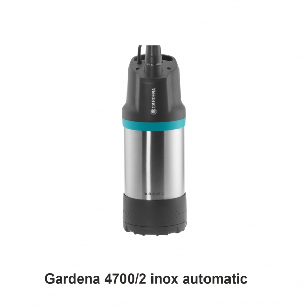 Gardena 4700/2 inox automatic Regenwasserpumpe