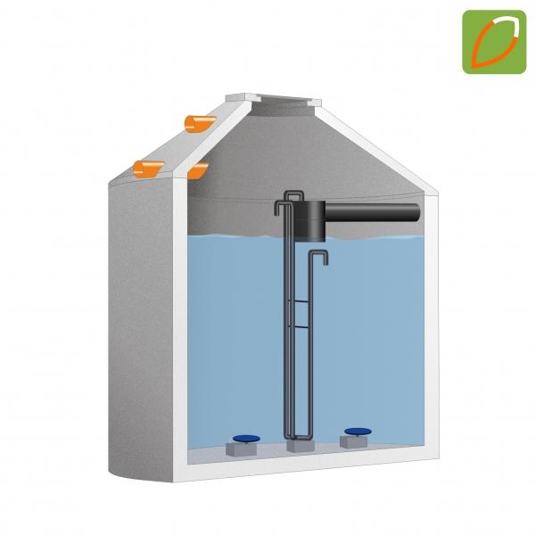 ecoFUXX one 4-8 EW Kleinkläranlage im Betonbehälter frei Haus!